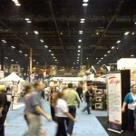 A view from one end of the 2010 NRA Show. It was enormous!