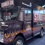 Milwaukee's own STREET-ZA mobile pizza truck